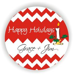 Christmas Labels  Personalized Address Labels  by MMGraphicDesigns, $12.00