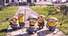 """""""Mower Minions"""" a new short will debut with """"The Secret Life of Pets"""" in theaters this summer. It will be available in both 3D and 2D. #minions #movie #shortfilm #animation #universal #secretlifeofpets #twitter"""