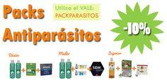 Nuevos packs #antiparasitarios para mascotas con #descuentos del 10% #mascoweb #mascotas  #tiendaonline #vale