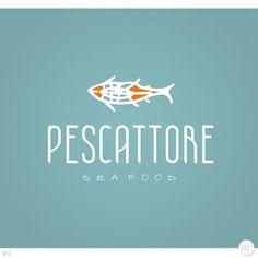 Arte campeã do projeto Pescattore #logovia #logodesign #logomarca