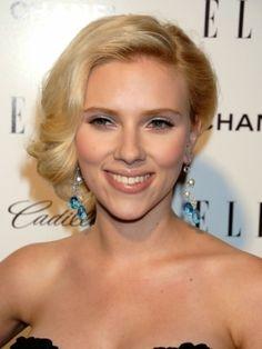 Scarlett Johansson  Gonna do this style today