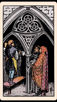 PAST: Three of Pentacles | 7 Tarot Readings By People Who Have No Idea How To Read Tarot Cards