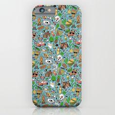 """Adventure Supplies"" iPhone Case by Valeriya Volkova on Society6."