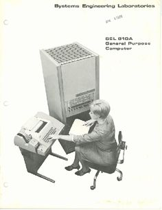 Systems Engineering Laboratories - General purpose computer (1967).