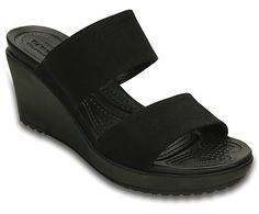 30778ba2f2dc crocs Women s Leigh II 2 Strap Wedge W Wedge Sandal
