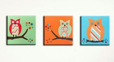 Cute owl pictures for a boys room