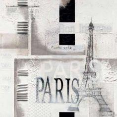 Paris Canvas Art - Marie-Louise Oudkerk (24 x 24)