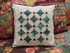 cathedral window quilts -