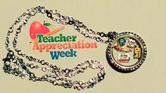 Teacher Appreciation Locket from My Dream Locket at www.mydreamlocket.com