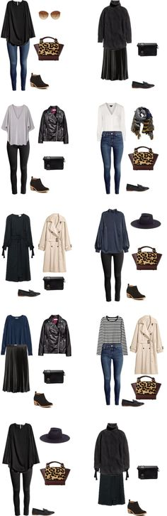 What to Wear in Boston and San Francisco Outfit Options 11-20 #packinglight #travellight #travel #traveltips