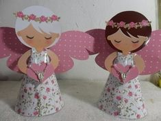 Anjo 3d Silhuete - R$ 4,95