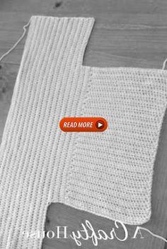 PRIMERO: Tejer dos partes iguales... Unir para dar forma....: Knitting Yarn Diy, Knitting For Kids, Knitting Designs, Knitting Patterns, Crochet Patterns, Crochet Stitches, Knit Crochet, Crochet Hats, Crochet Cardigan Pattern