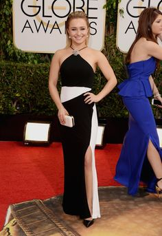 Hayden Panettiere - Fashion On The 2014 Golden Globes Red Carpet