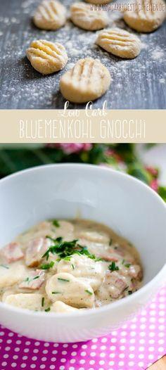Traumhaft leckre Blumenkohl Gnocchi #lowcarb #glutenfrei www.lowcarbkoestlichkeiten.de