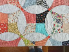 Molly Flanders flowering snowball quilt. Spectacular!