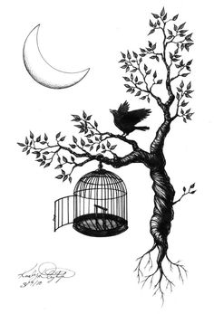 Black bird singing in the dead of night...take these broken wings and learn to fly. All your life, you were only waiting for this moment to arrive