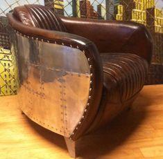 """Résultat de recherche d'images pour """"table ronde aviateur"""" Dream Furniture, Art Deco Furniture, Furniture Styles, Metal Furniture, Industrial Furniture, Furniture Making, Cool Furniture, Furniture Design, Aviation Furniture"""
