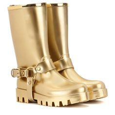 654fc8efcc292 Dolce & Gabbana -Rain Boots rubber boots - A decorative buckle gives them  character and