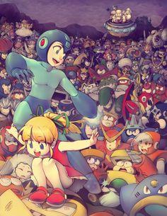 Megaman Tribute by =SaiyaGina on deviantART