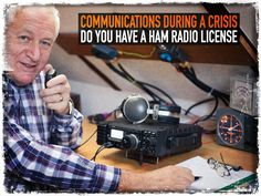 Ham Radio License - The first thought of some is that a license to operate a ham radio is worthless when the SHTF. Do what you have to do during a crisis