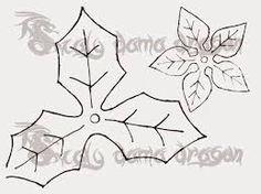 Resultado de imagen de hoja de la flor de pascua