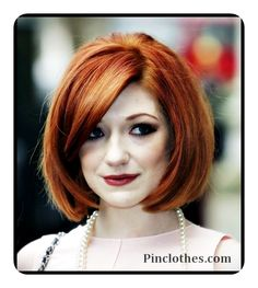 PinClothes – Fashion and Style Ideas, Women Look, Shoes, Jewelry, Skirt, Dresses & Clothes  » Nicola Roberts Classic short bob hairstyle
