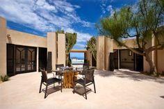 villa en Ibiza patio interior