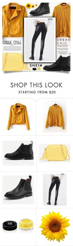 """""""Cool-Girl Style: Leather Jackets"""" by samra-bv ❤ liked on Polyvore featuring Givenchy"""