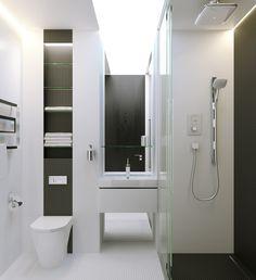 WC in minimalism by Michael Samoriz, via Behance