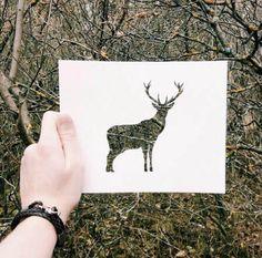 Dieser kreative Mann nutzt die Welt, um bunte Kunst Bilder zu machen