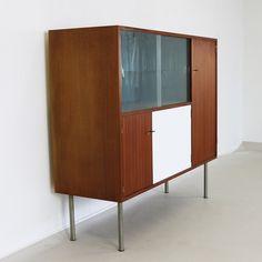 Small elegant wall cabinet by Jos de Mey