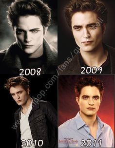 Edward Cullen gets more and more color each movie