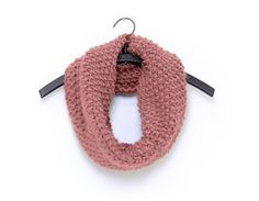 Knitting Pattern For Chunky Snood Moss Stitch