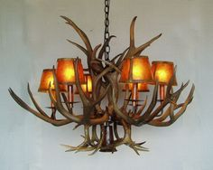 How to Build an Antler Chandelier - YouTube