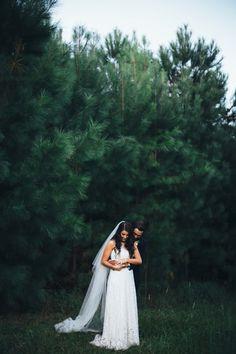 Wandering through the pines <3 // Naomi & Jason's Summergrove Estate Wedding // Image by @alcornimages