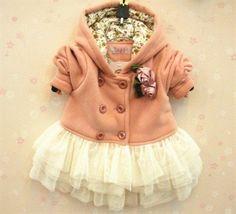 Pink Coat with tutu