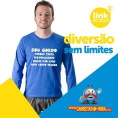 Camiseta Sou Gordo : Sou GORDO porque tanta personalidade assim não cabe num corpo magro. http://www.camisetasdahora.com/p-24-255-4263/Camiseta---Gordo | camisetasdahora