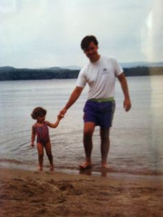 Splashing around with Dad! #PinitforPapa