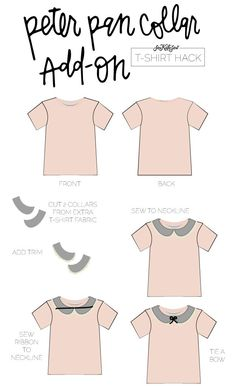 10 ways to refashion a t-shirt diy clothes шитье, выкройки, Sewing Hacks, Sewing Tutorials, Sewing Tips, Sewing Clothes, Diy Clothes, Dress Sewing, Sewing Shirts, T Shirt Hacks, Miranda Priestly