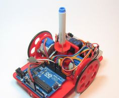 I designed this project for a 10-hour workshop for ChickTech.org whose goal is to introduce teenage women to STEM topics. The goals for this project were: Easy to build. Easy to program. Did something interesting. Low-cost so participants could take it home and continue to learn.With those goals in mind, here were a couple of the design choices: Arduino compatible for ease of programming. AA battery power for cost and availability. Stepper motors for accurate motion. 3D Printed for ease of…