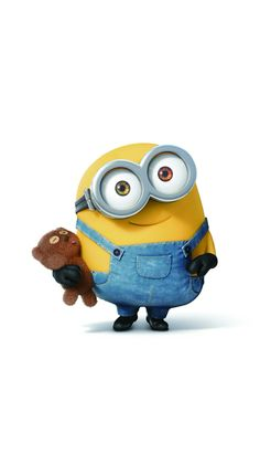 Movies Wallpaper for iPhone from Uploaded by user Bob with his teddybear so cute minions