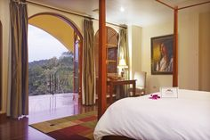 Master Suite at the San Ignacio Resort Hotel with an spectacular view of Belizean forests