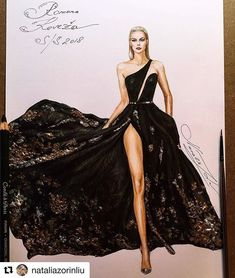 Fashion design sketches 688206386785698743 - à la mode Source by Dress Design Sketches, Fashion Design Sketchbook, Fashion Design Portfolio, Fashion Design Drawings, Fashion Sketches, Dress Designs, Drawing Sketches, Fashion Drawing Dresses, Fashion Illustration Dresses
