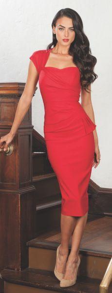 Uma Dress | Little Red Dress | Stop Staring!