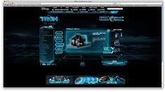 Tron Website | Heavenspot on Behance