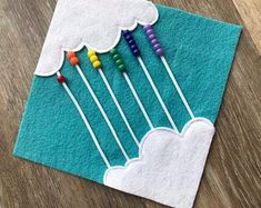 The perfect travel toy for summer vacation roadtrips! Make your own quiet book! Count the Beads Quiet Book Page by RoseInBloomCreations on Etsy Diy Quiet Books, Baby Quiet Book, Felt Books, Quiet Book For Toddlers, Baby Play, Baby Toys, Toddler Toys, Infant Activities, Activities For Kids