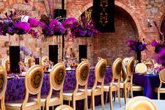 purple-gold-wedding-decor-castillo-di-amorosa-3.jpg (645×430)