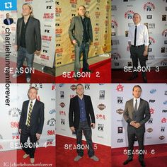 """In honor of tonight's Final Premiere Red Carpet of """"Sons of Anarchy"""" let's take a look back from the last six seasons of red carpets!!"""