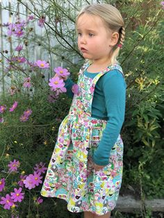 Woodland Pinafore Woodland, Trending Outfits, Unique Jewelry, Kids, Clothes, Etsy, Vintage, Style, Fashion