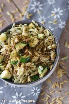 KOCHQUICKY No. 3: Reisfrischkäsepfanne mit Gemüse und Schinken